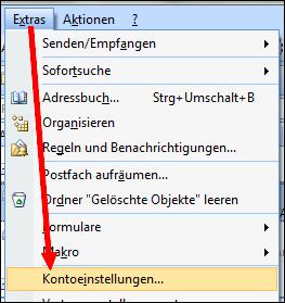 , outlook 2007 – hotmail / Windows live Konto einrichten